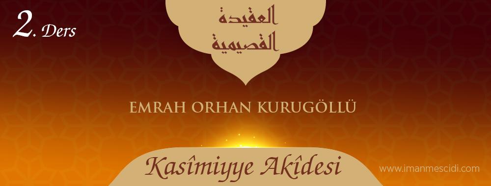 Kasîmiyye Akîdesi - 2
